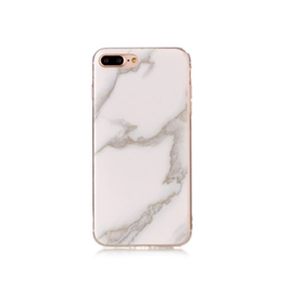 Iphone 5C  - Marble - Marmor Case- Vit/ LjusGrå- Mjukt
