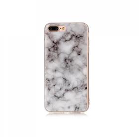 Iphone 7/8  - Marble - Marmor Case- Grå - Mjukt