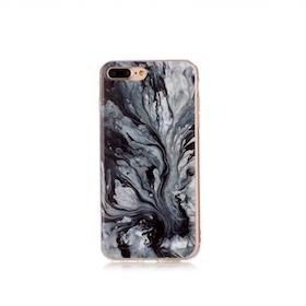 Iphone 7/8  - Marble - Marmor Case- Härlig Grå - Mjukt