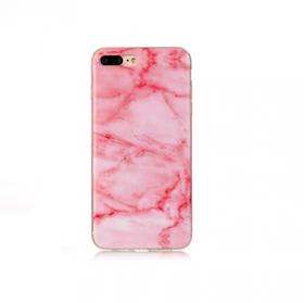 Iphone 7/8  - Marble - Marmor Case- LjusRosa - Mjukt