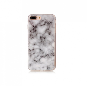 Iphone 6/6S  - Marble - Marmor Case- Grå - Mjukt