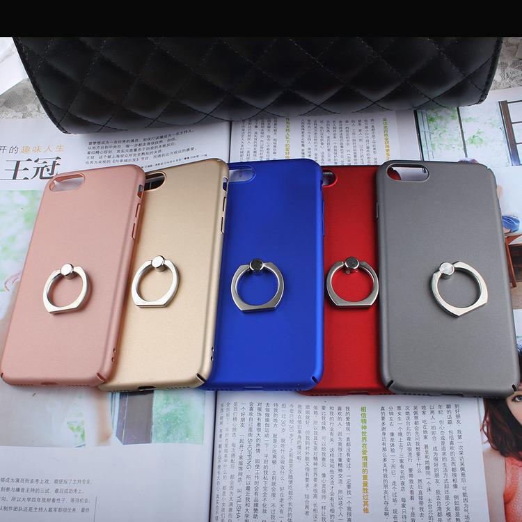Iphone 7/8  Skal - RingHållare - Svart