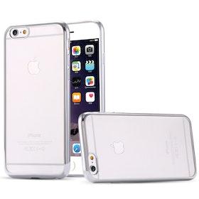 Iphone 7/8 skal - Silver i Kanterna - Transparant - Lyx