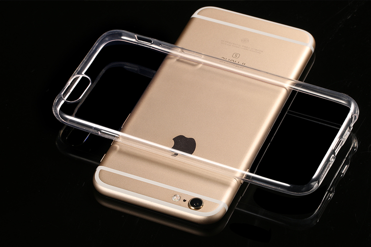 Iphone 6/6S Plus Skal - Transparant - TPU
