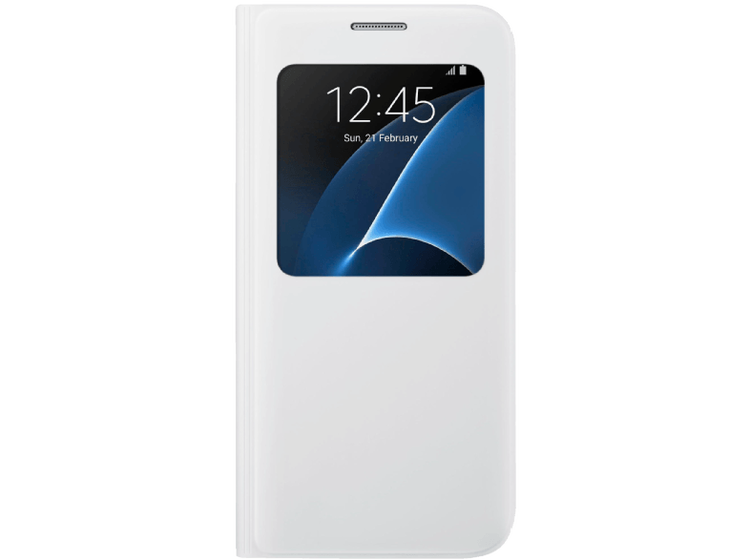 Samsung Galaxy S7 - Window View Cover - Vit