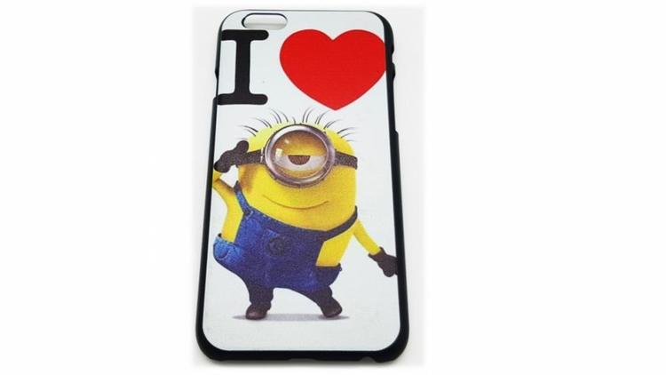 Iphone 6 6S Skal - Minion - Hjärta - Färgglad - billigamobilskal 4c58245a90457