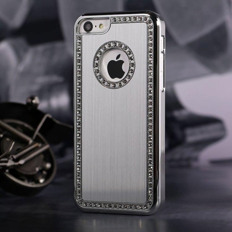 Iphone 5 / 5S Alu - Glimmande Stenar - Lyx