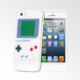 Iphone 5 / 5S Skal - Gameboy - Mjukt Gummi