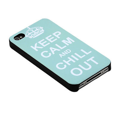 Iphone 5/5S - Keep Calm And Chill Out - Turkos