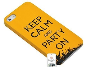Iphone 5/5S - Keep Calm And Party On - Orange