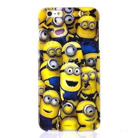 Iphone 5/5S - Massa Minions - Färgglad - TPU