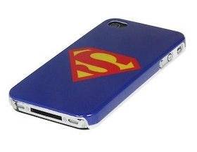 Iphone 5/5S Skal - Superman - Blå