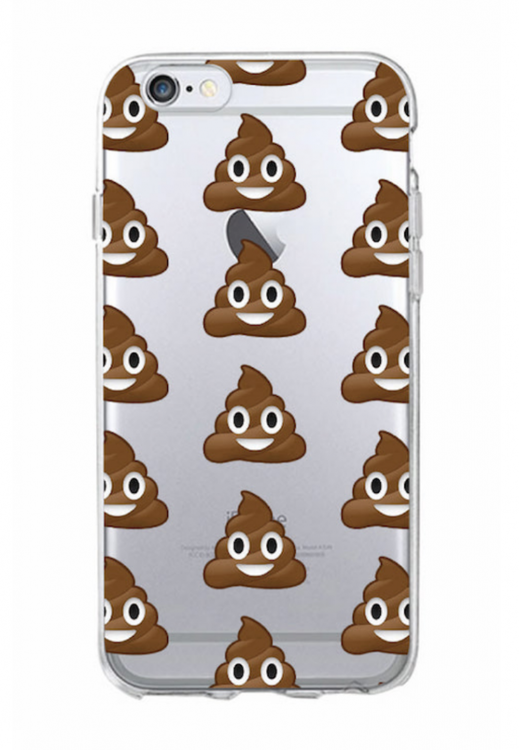 Iphone 7/8 Plus Skal - Emoji  -Poop - Mjukt