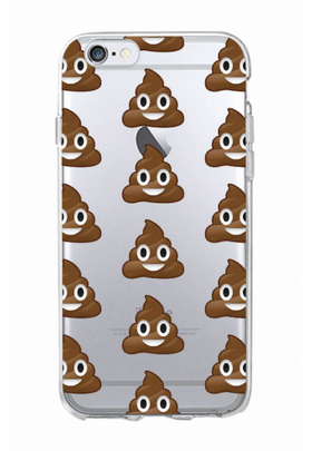 Iphone 6/6S Plus Skal  -Emoji -Poop  - Mjukt