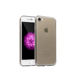 Iphone 6/6S Skal - TPU - Grå - Mjukt