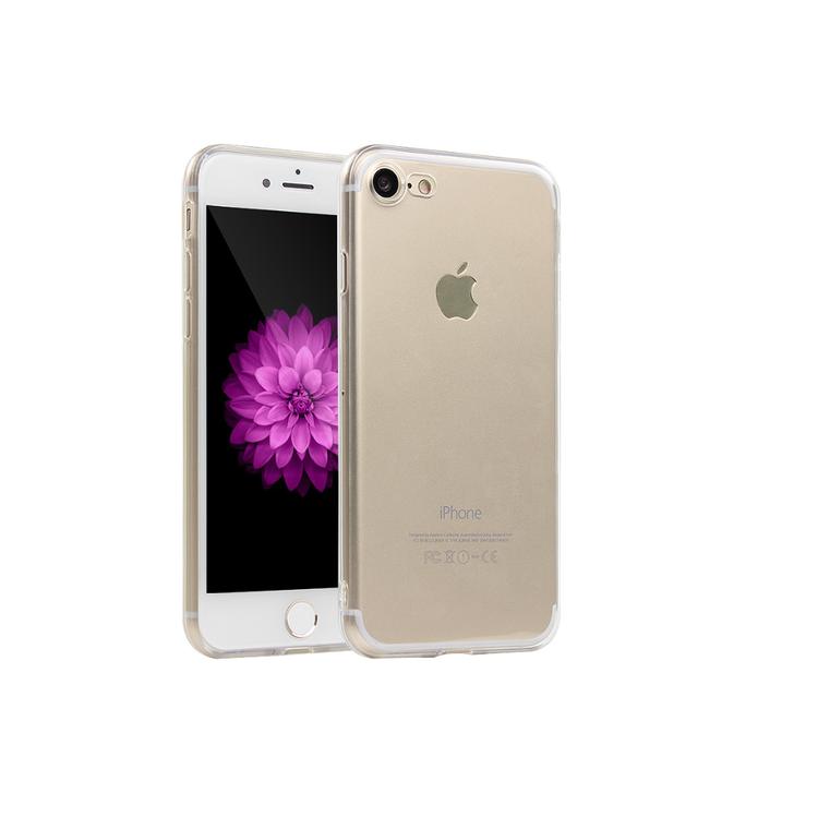 Iphone 6/6S Skal - TPU - Transparant - Mjukt