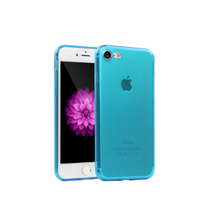 Iphone 6/6S Skal - TPU - Blå - Mjukt