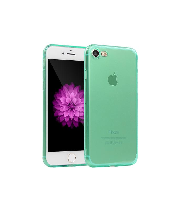 Iphone 6/6S Skal - TPU - Grön- Mjukt