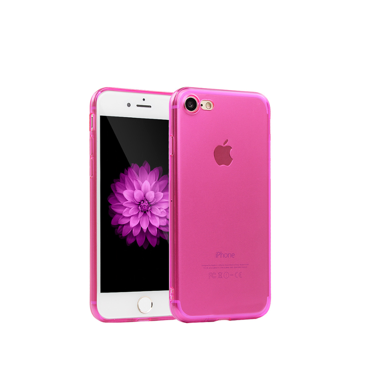 Iphone 6 6S Skal - TPU - Rosa- Mjukt - billigamobilskal 8e6daa682bc49