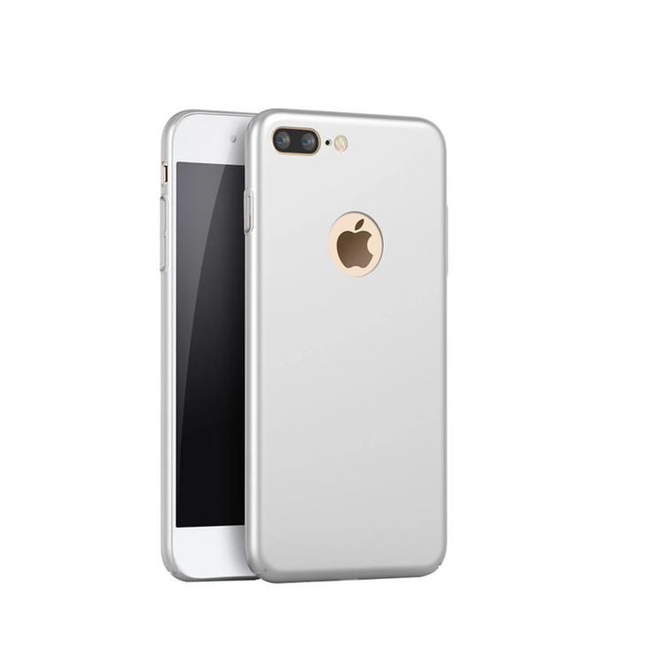 Iphone 7/8 Skal  - Silver - HardCase