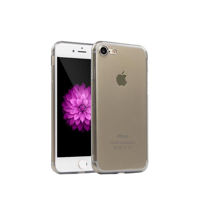 Iphone 7/8 Plus Skal - TPU - Grå - Mjukt