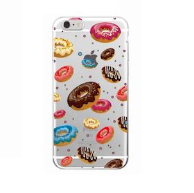 Iphone 5 / 5S Skal - Munkar Med Topping - Färgglada - Mjukt