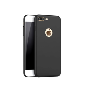 Iphone 5/5S/SE Skal  - SVART- HardCase