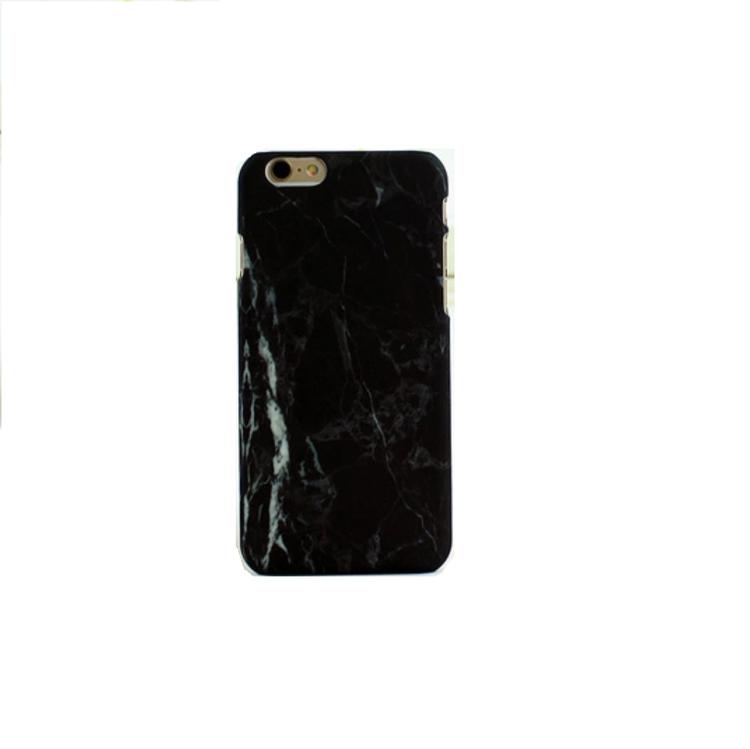Iphone 5/5S/SE  - HardCase - Marmor - Svart