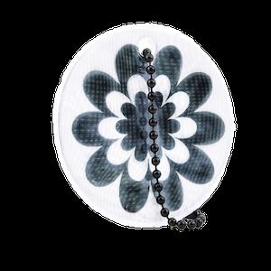 Flower power Vit/svart