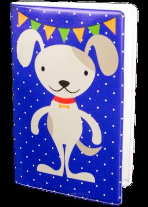 Kul hund blå