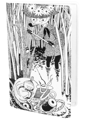Mumin Svart/vit Fiske