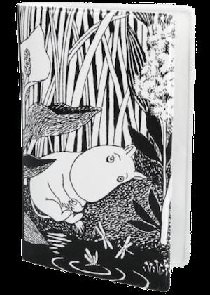 Mumin svart/vit näckros