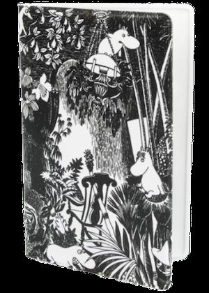 Mumin svart/vit skog