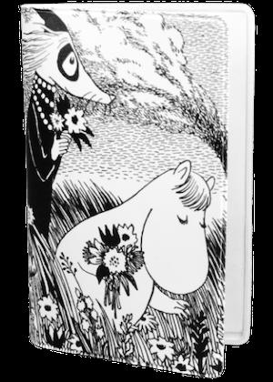 Mumin svart/vit äng
