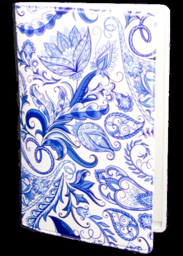 Paisley porslinsblå