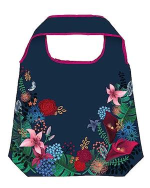 Shoppingbag, Dark Flower