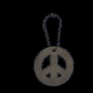 Peace svart