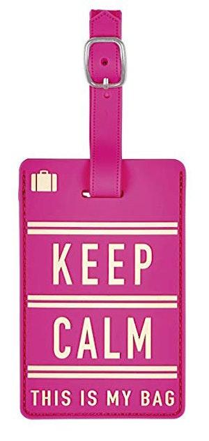 Bagagetag Keep Calm
