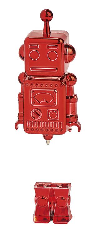 Penna Robot röd