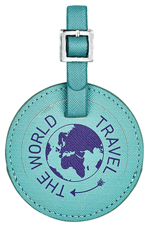 Bagagetag The World Travel