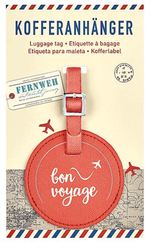 Bagagetag Bon Voyage!