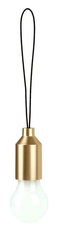 Miniglödlampa guld