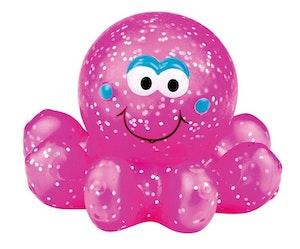 Lysande bläckfisk rosa