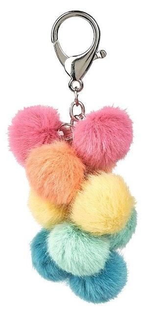 Pompombollar, nyckelring