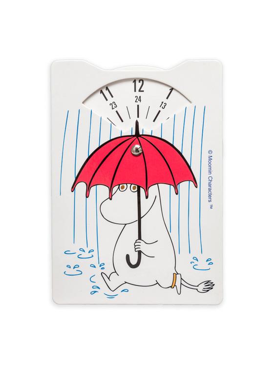 P-skiva Mumin med paraply