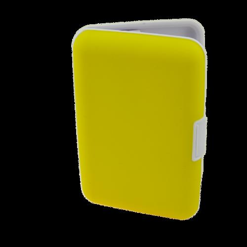 Kortfodral XL gul