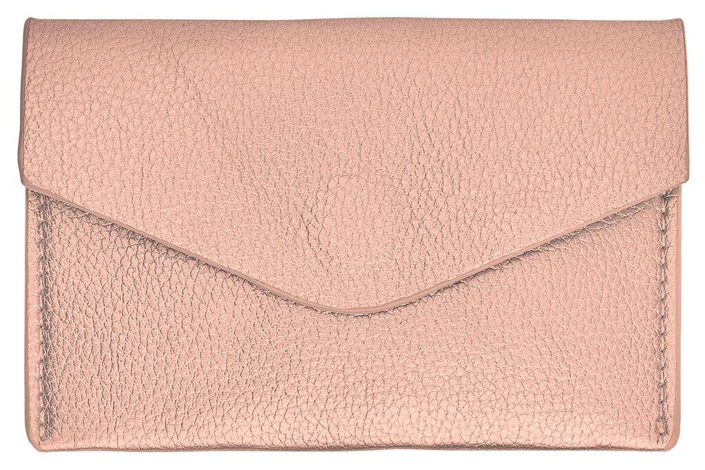 Kortfodral Konstläder rosa