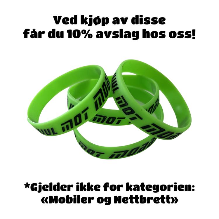ARMBÅND - PÅ HJUL MOT MOBBING