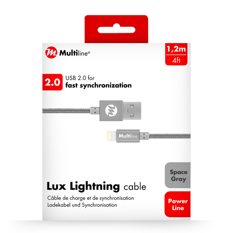 MULTILINE - LADEKABEL LIGHTNING