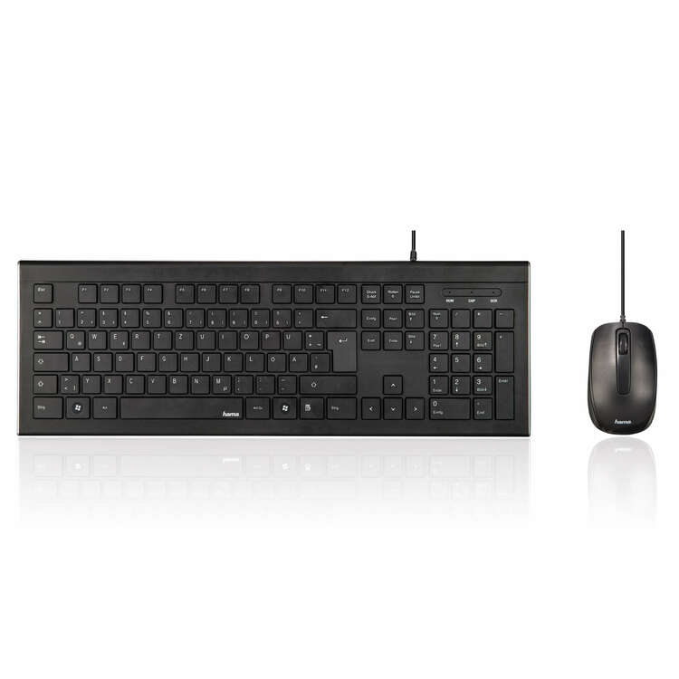 Keyboard/Mus Sett Cortino (KABEL)